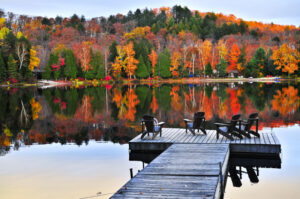 3 Reasons You Should Visit the Lake in the Fall