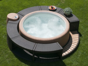 softub outdoors