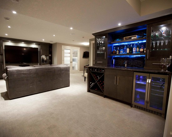 Turn Your Basement Into The Ultimate Man Cave