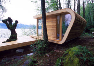 tiny home living at the lake