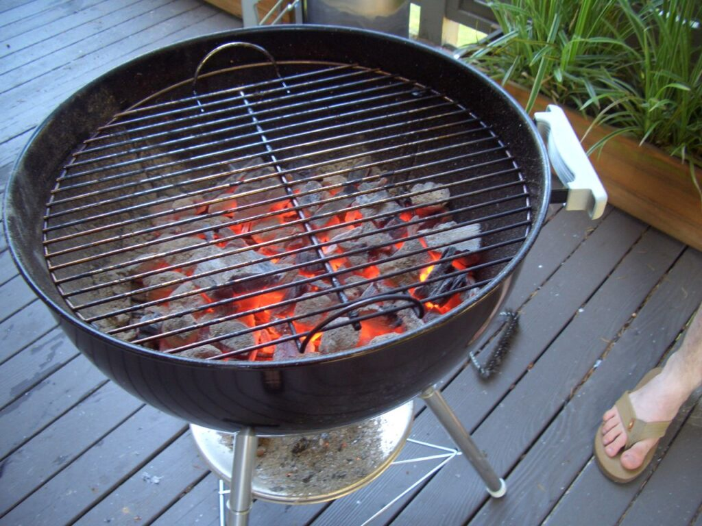 Using Your Charcoal Grill As A Smoker