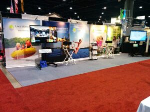 2015 atlanta boat show lake homes realty booth
