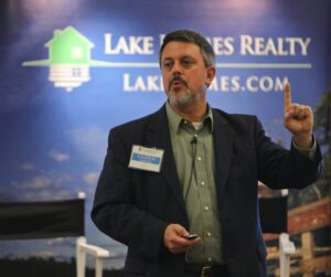 CEO Glenn Phillips at Lake Homes Fall Summit 2015