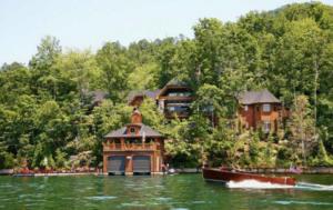 Lake Burton rustic lodge