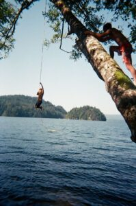 Lake Martin Rope Swing