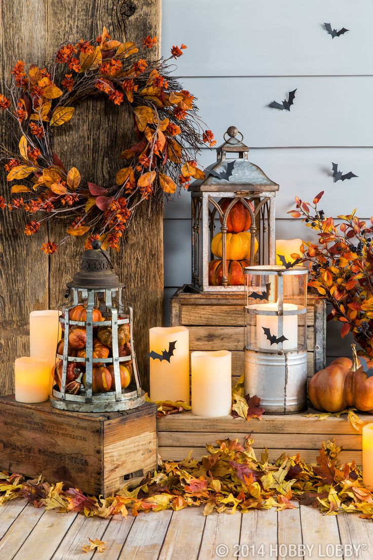 Lovely Fall Decorating