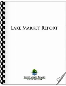 Lake Homes Realty - Lake Market Report - Cover Image with Binding