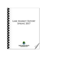 Lake Homes Realty Lake Market Report Front Cover