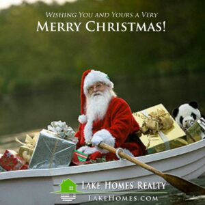 Lake Homes Realty - Merry Christmas From The Lake
