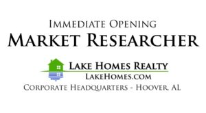 Lake Homes Realty - Job Opening - Real Estate Market Researcher