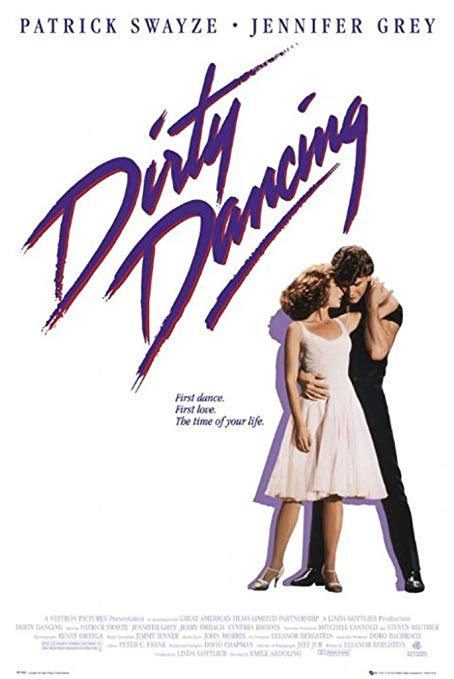 dirty dancing movie poster, lake movie filmed in NC and VA