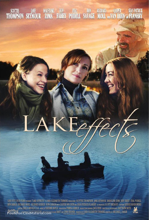 Lake Effects movie poster, filmed on movie lake Smith Mountain Lake, VA