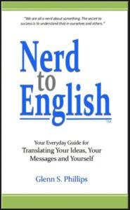 Nerd-to-English - Book Front Cover