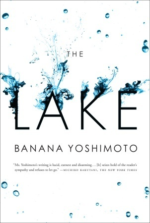 "Book cover of ""The Lake"", a lake-centric story"