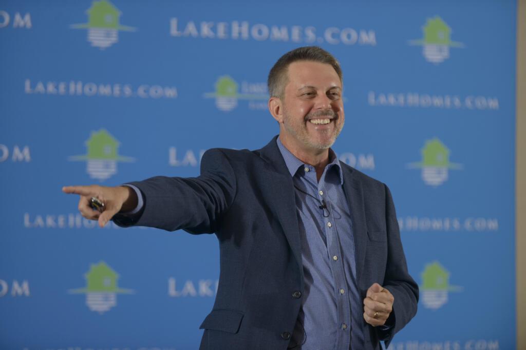 Glenn Phillips, CEO of Inc. 5000 company Lake Homes Realty