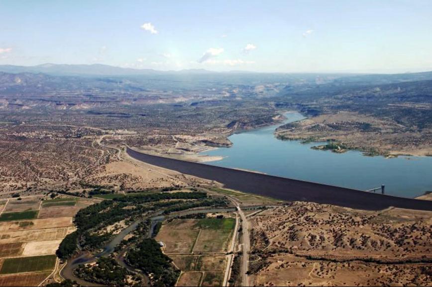 Cochiti Dam, New Mexico