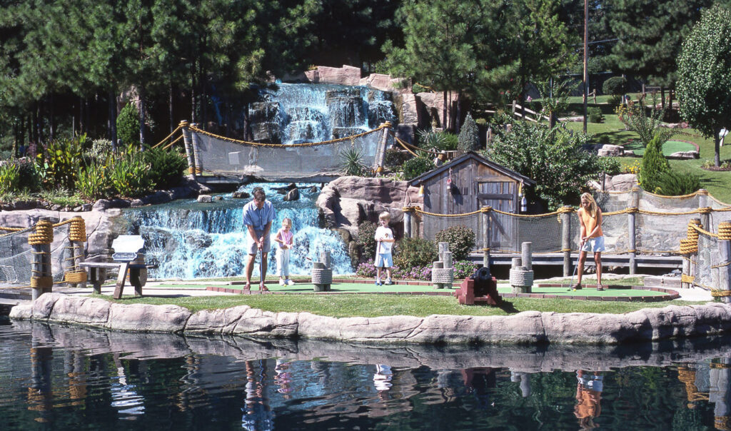 Pirate's Cove Hot Springs Adventure Golf Arkansas Location