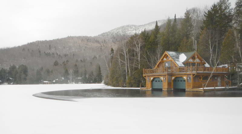 Boathouse deicer tips for managing cold weather