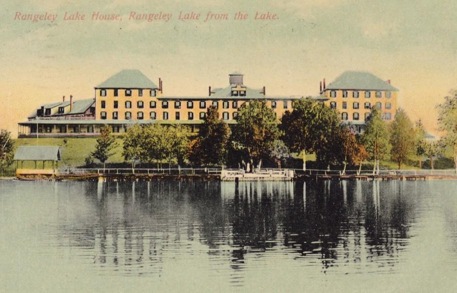 Rangeley Lake House postcard
