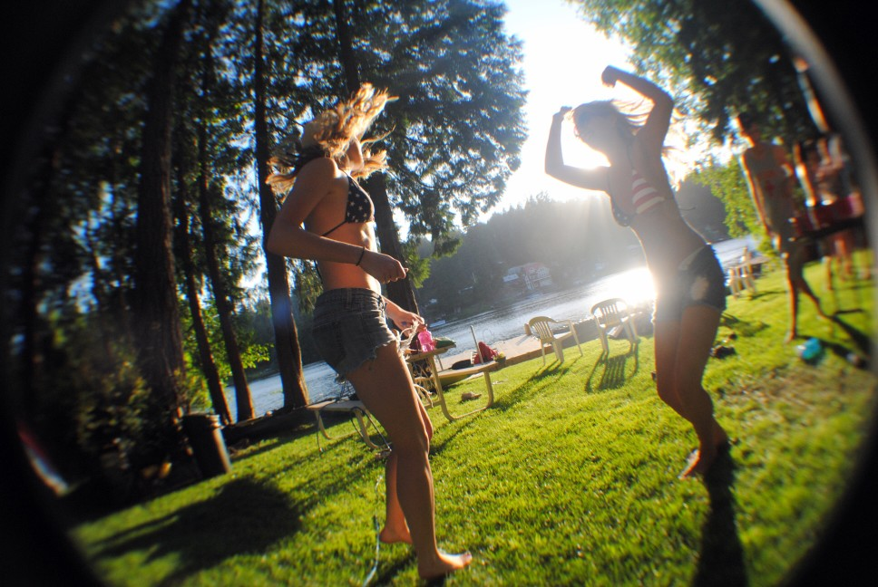 Fourth of July at the lake party
