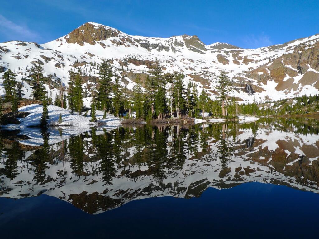 Halfmoon Lake snow