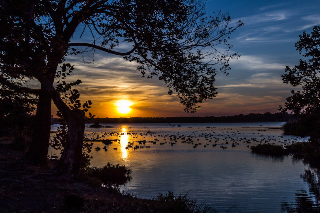 Sunset Bay, White Rock Lake, Dallas Texas
