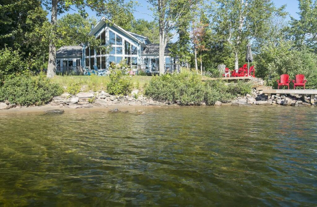 Summer lake house who owns your lake shoreline
