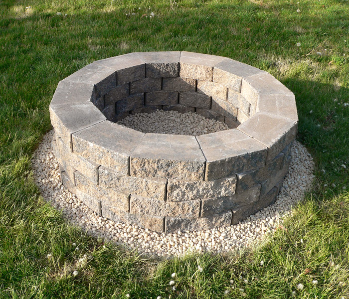 How to Build a DIY Fire Pit Under $100 | Lake Homes Realty