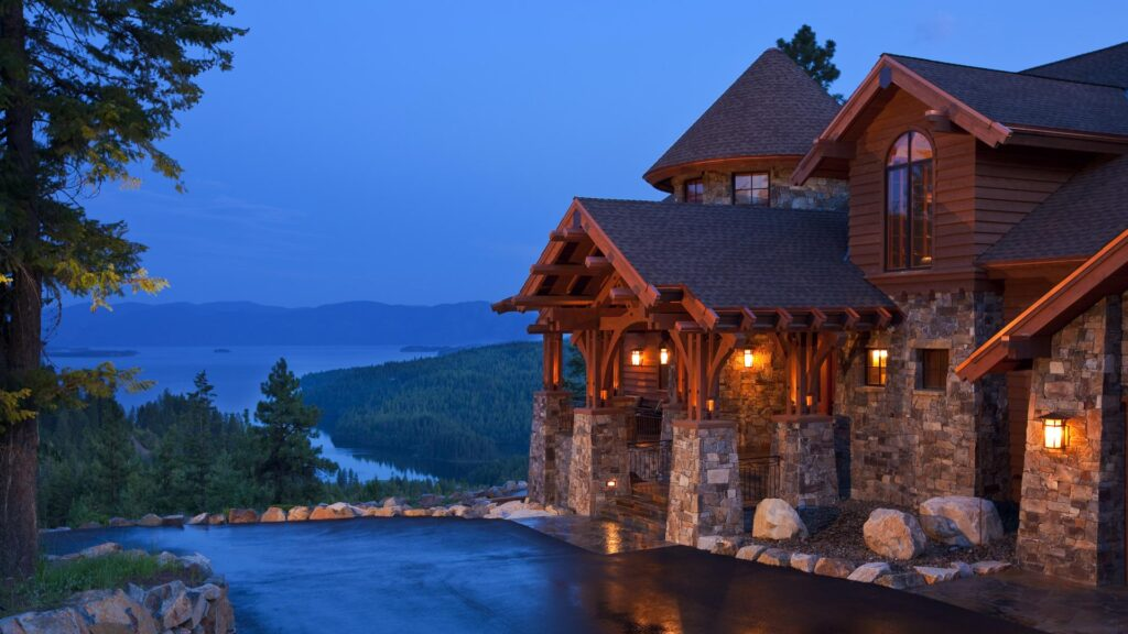 lakeview home in idaho