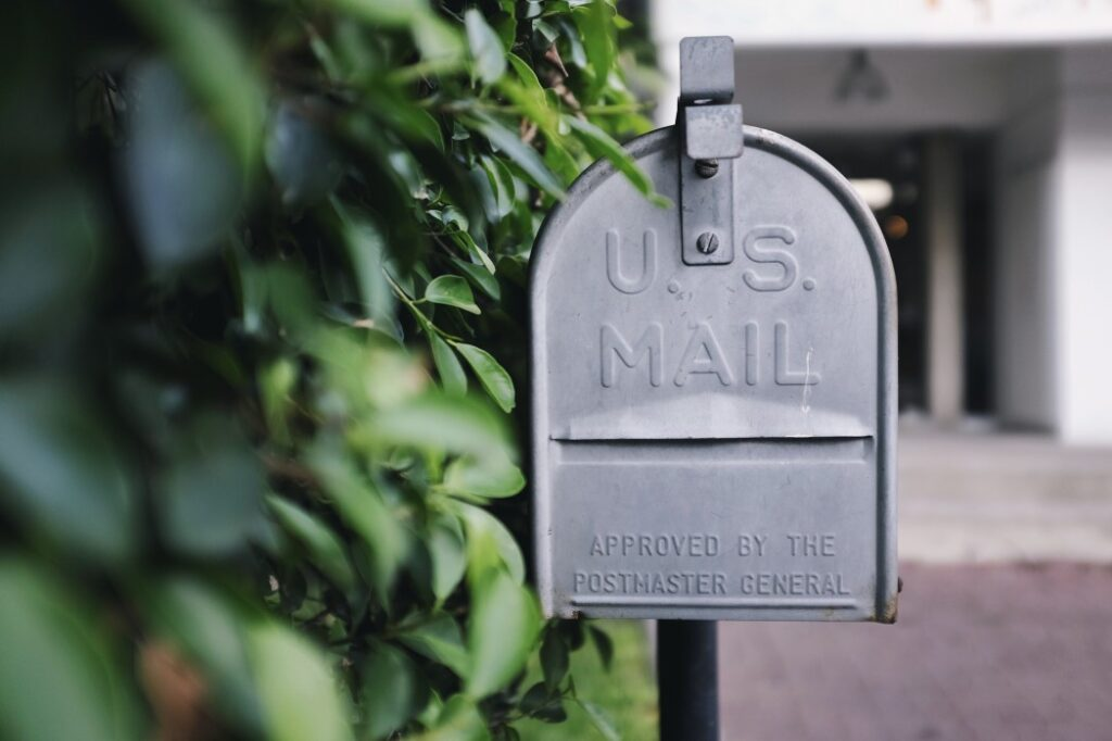 USPS mail box Stop Your Mail and Newspaper Delivery