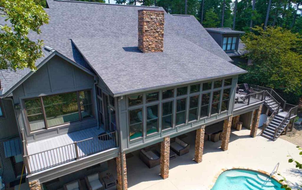 Lake Wedowee lake house built in 2005