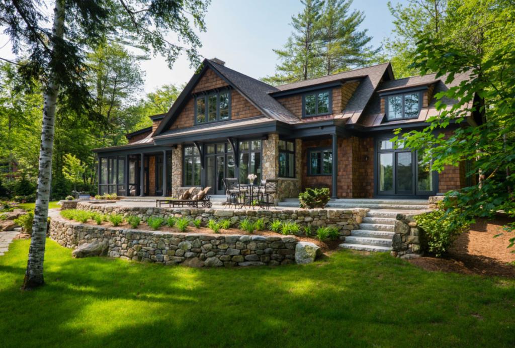 Lake Home or a Lake Cabin   Lake Homes Realty   Bonin Architects