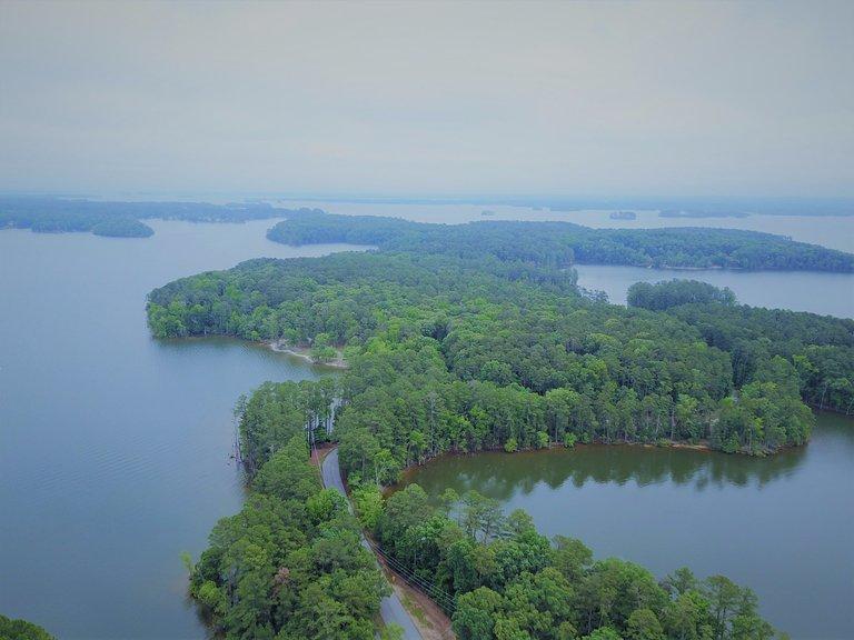 lake murray islands