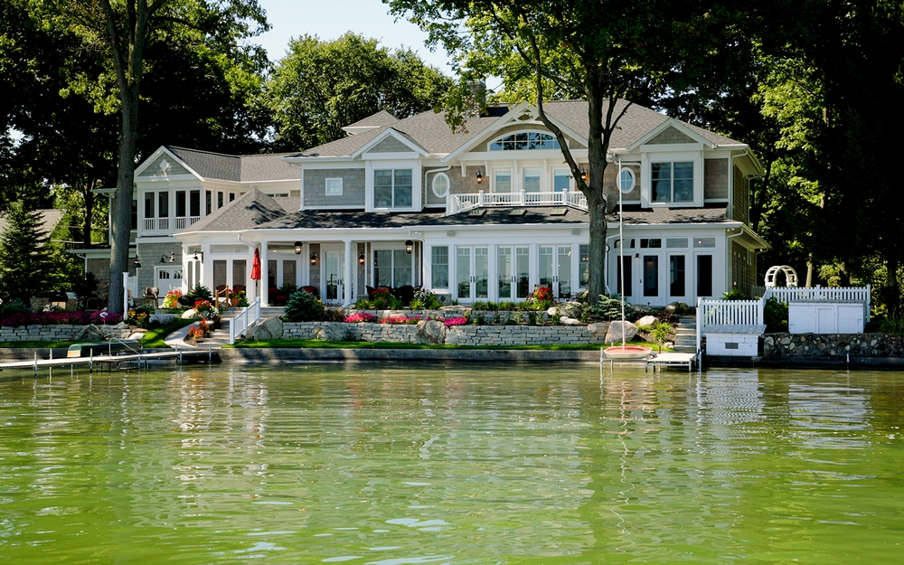 Lake House on the Water