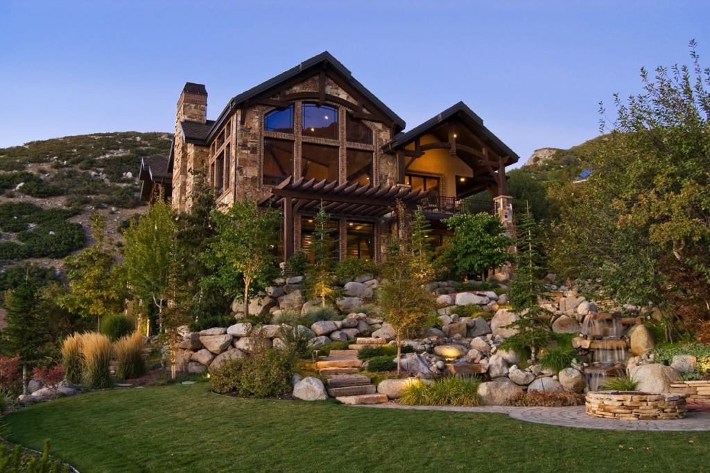 Stone mountain house
