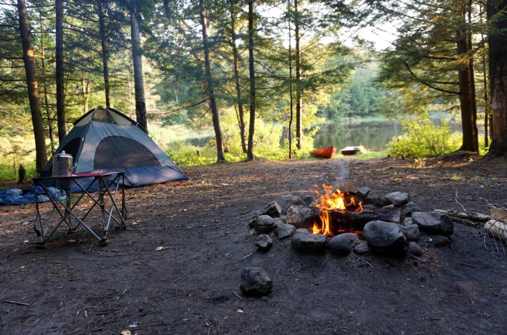 lake campgrounds