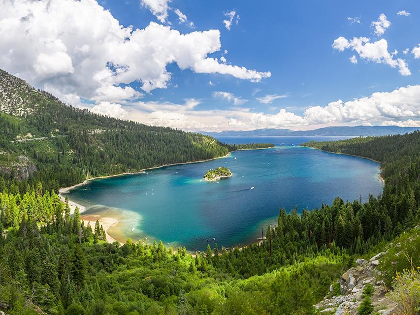 Lake Tahoe clear lake