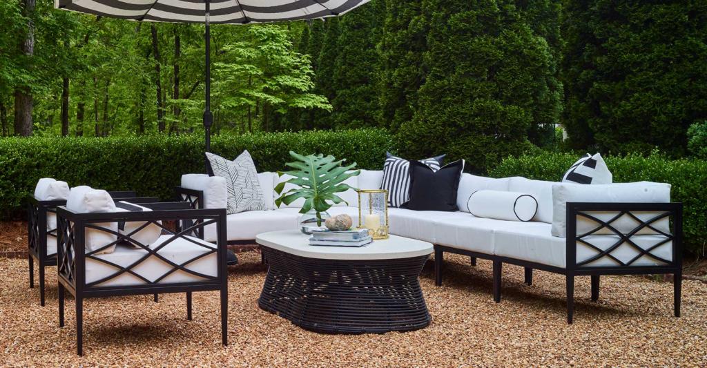 modern luxurious sofa outdoor inspiration