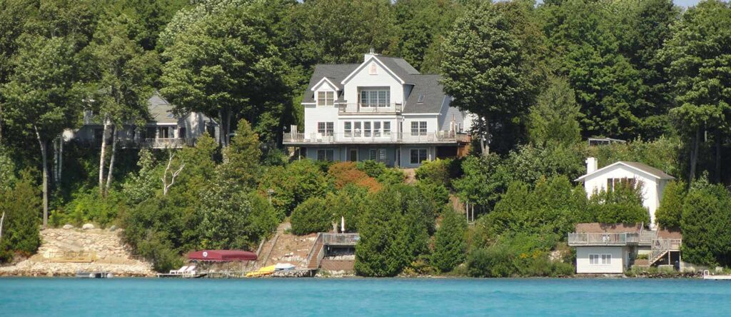 torch lake bed and breakfast airbnb waterfront home-based business